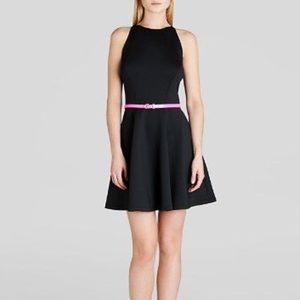 [Ted Baker] Sleeveless Skater Dress Scuba Belt